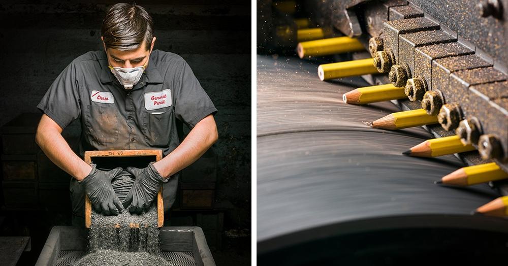 Фотограф показал процесс создания карандашей на старейшей в мире фабрике, и если вы думаете, что это скучно, то вы сильно удивитесь