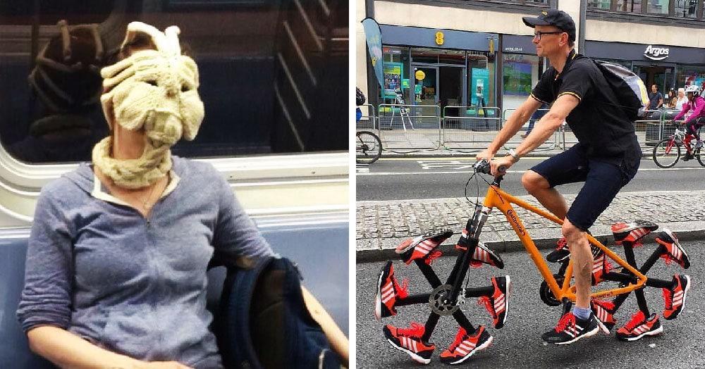 Пользователи интернета поделились снимками, на которых происходит что-то странное. Скажите нам, если найдёте какое-то логическое объяснение