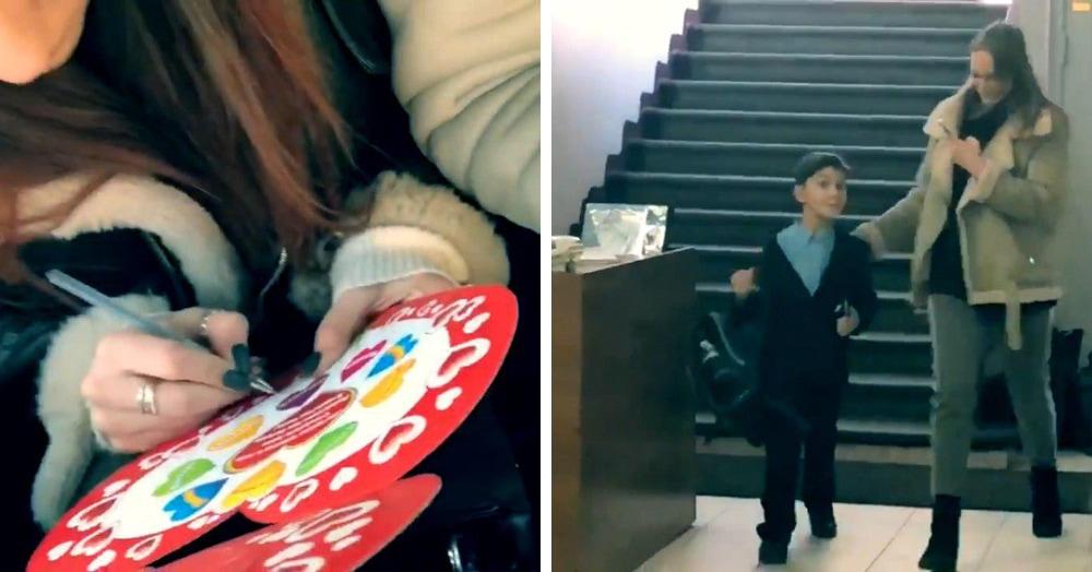 Мальчик сделал всем своим одноклассникам валентинки, но не получил ничего в ответ и сильно расстроился. И тут на помощь пришли неравнодушные пользователи Твиттера