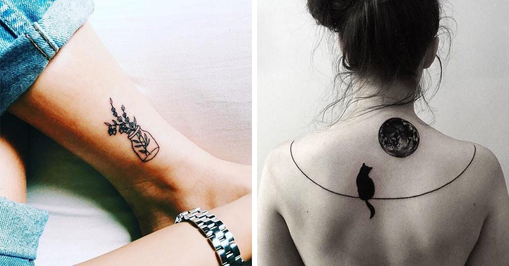 30 аккуратных татуировок в стиле минимализм,которые доставят вам истинное эстетическое удовольствие