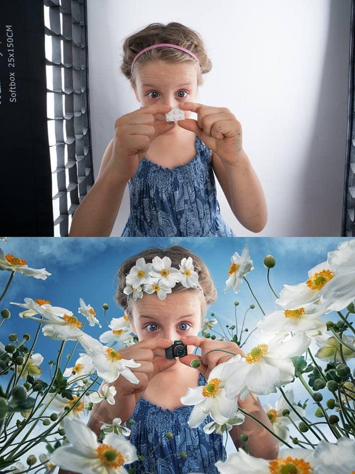 Отец переносит своих детей в сказочный мир при помощи фотошопа и капли магии. Ни один ребёнок не постадал!
