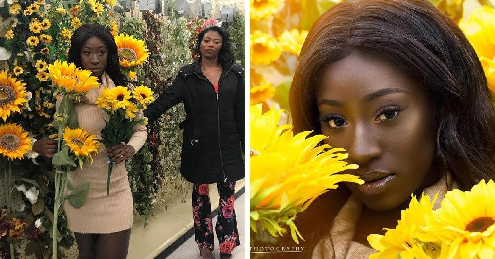 В сети появился новый флешмоб, участники которого делают фотографии в магазине для рукоделия. Результаты превосходят студийные съёмки