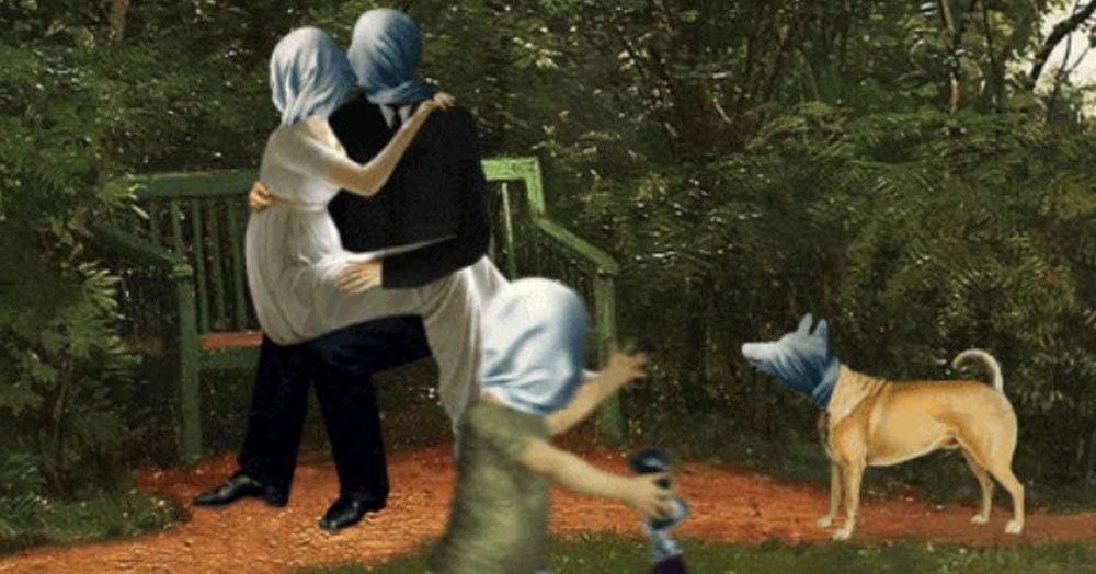 Польский художник сделал из известных картин жутковатые гифки, добавив им изрядную долю чёрного юморка. Получилось странно, но смешно