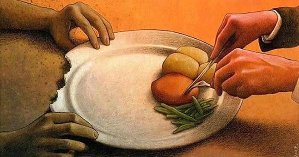 Художник рисует едкие иллюстрации, показывая, что современный мир немного не в себе