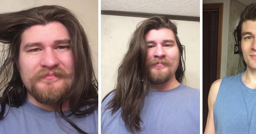 Этот парень весил больше центнера, когда, наконец, решил похудеть. И теперь он вылитый диснеевский принц