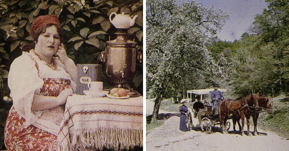 27 редких цветных фотографий, которые были сделаны в России более ста лет назад