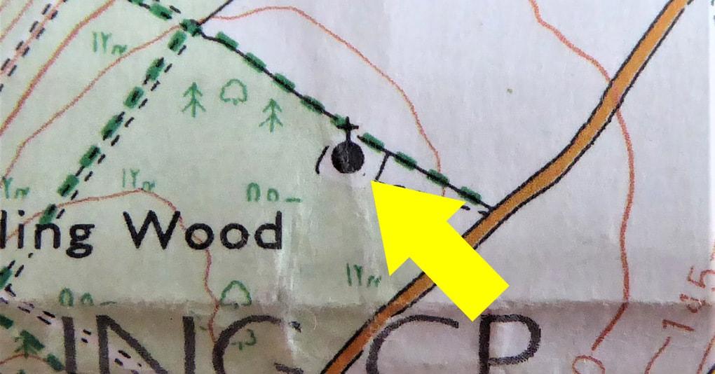 Мужчина увидел необычную отметку на карте и решил посетить это место. И не пожалел