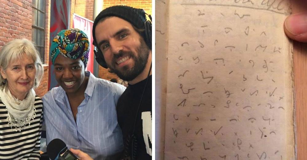 Женщина принесла на радио зашифрованный дневник своей бабушки. И ей помогли его прочесть