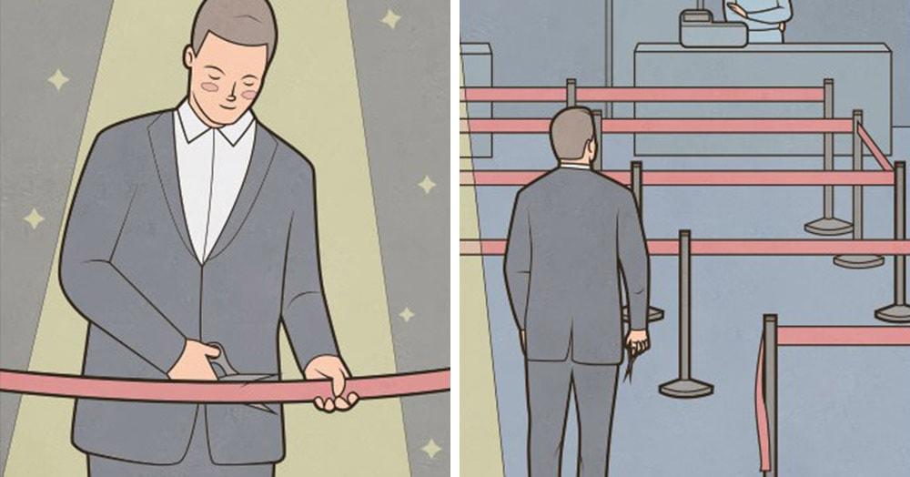 20 крутых комиксов от художника Gudim, которые настолько же остроумны, насколько злободневны