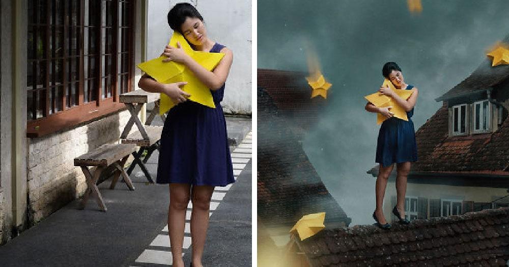 Девушка так круто владеет фотошопом, что на её снимках даже задний двор превращается в волшебный мир