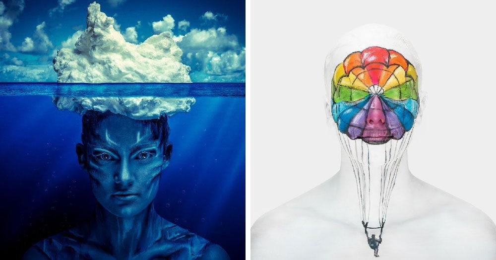 Британская художница создала серию работ, которые показывают, что творится у людей в голове
