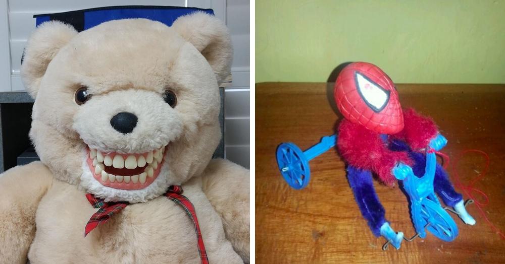 18 детских игрушек, которые получились совсем не такими милыми, как ожидали их создатели