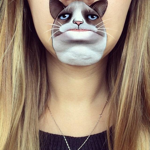 laurajenkinson 11111457 1629160173972142 970837962 n - Эта девушка с помощью макияжа превращает свои губы в мультяшных героев. Получается очень забавно