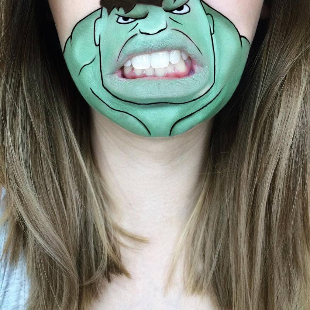 laurajenkinson 12822452 1573065596339530 738266508 n - Эта девушка с помощью макияжа превращает свои губы в мультяшных героев. Получается очень забавно