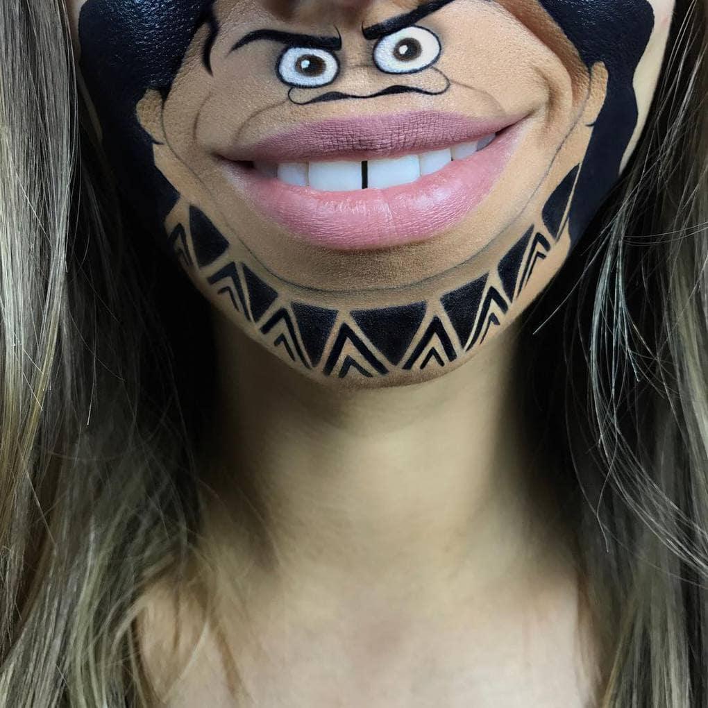 laurajenkinson 20838741 277209872761382 651114087136100352 n - Эта девушка с помощью макияжа превращает свои губы в мультяшных героев. Получается очень забавно