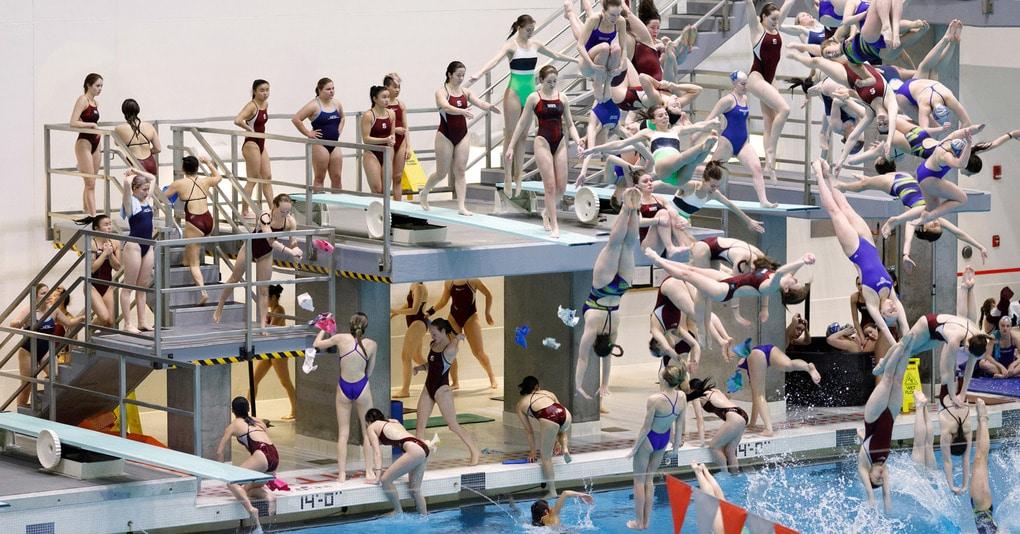 Фотограф снимает спортивные соревнования неожиданным образом, создавая невообразимый хаос