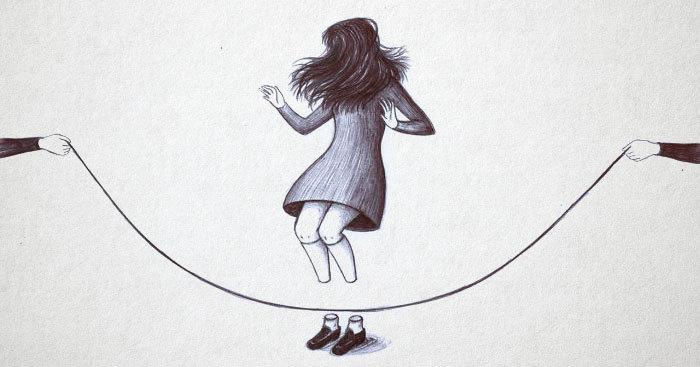 Итальянская художница рисует мрачные картины, которые напомнят вам о самых жутких страхах и кошмарах