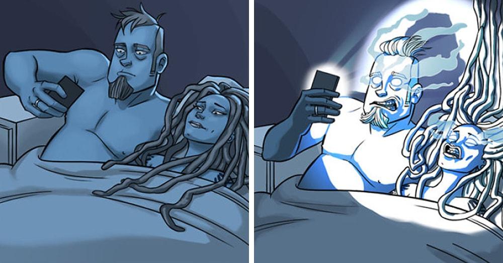 Семейная пара из Норвегии рисует комиксы о своей жизни, и эти ситуации знакомы каждому