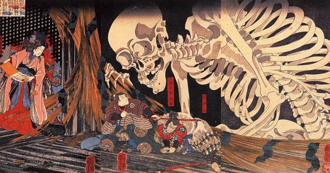 11 иллюстраций японских мифологических персонажей, которые лишат сна даже взрослых