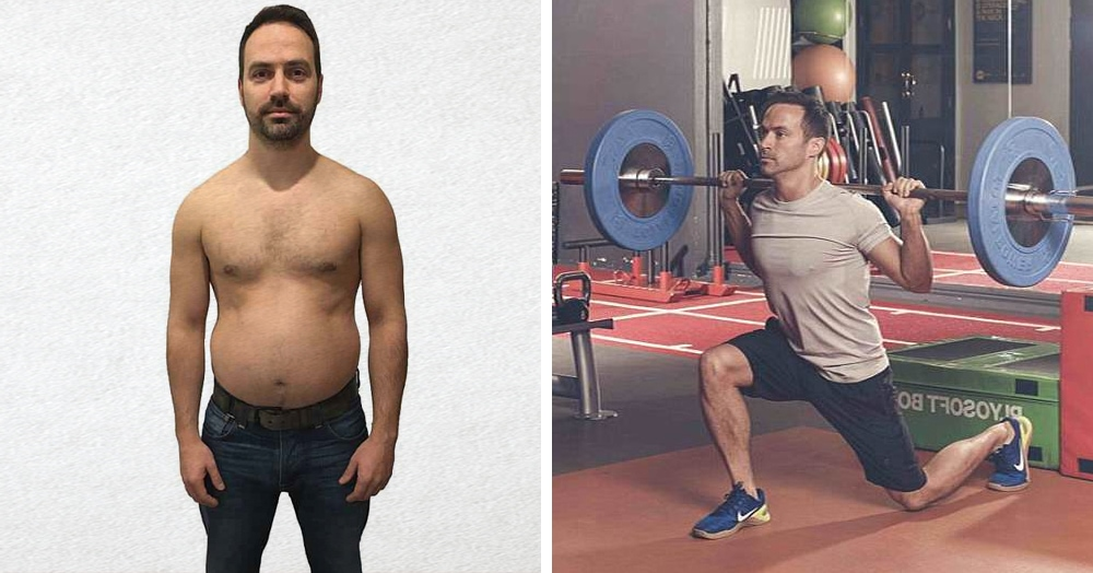 Главный редактор фитнес-журнала решил, что негоже ему ходить с пузиком, и сбросил 10 кг за 8 недель