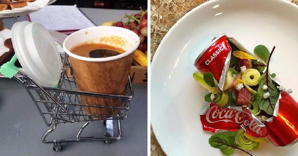 28 фотографий необычной подачи блюд, которая  впечатлила посетителей больше, чем сама еда