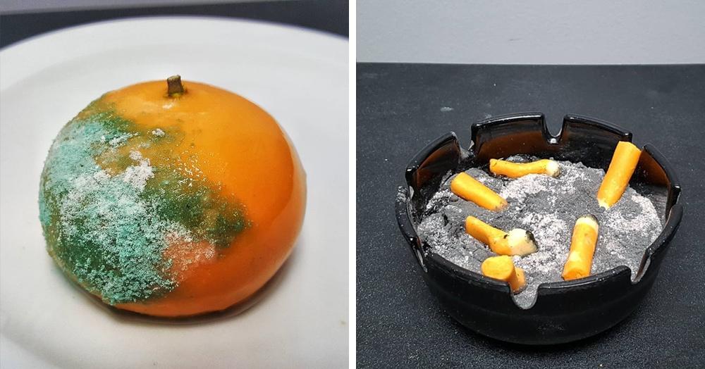 Повар создаёт десерты, внешний вид которых может оттолкнуть. Но узнав их состав, хочется попробовать всё