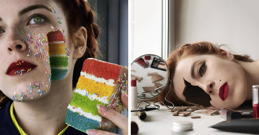 Девушка создаёт сюрреалистичные автопортреты, которые сломают вам голову. Но вам это понравится!