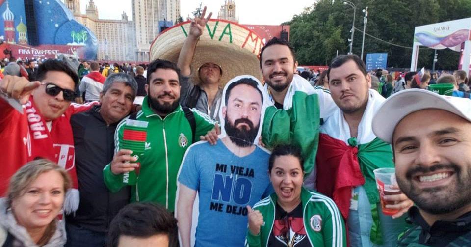 Жена не разрешила мексиканскому болельщику ехать на чемпионат в Россию, но его друзья-шутники нашли выход
