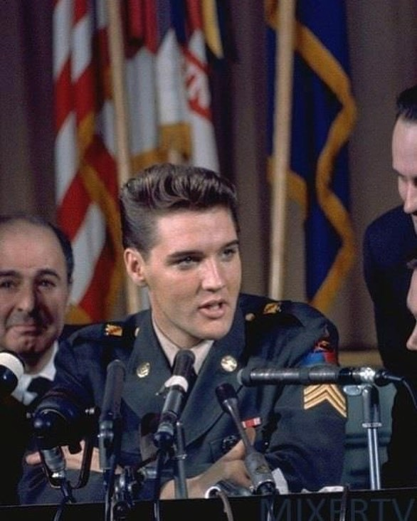 In 1958, Elvis Was Drafted Into Military Service