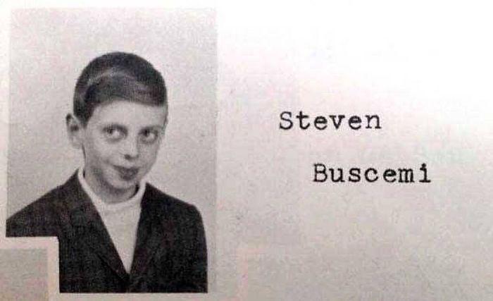 Steve Buscemi In Elementary School, Yearbook Photo