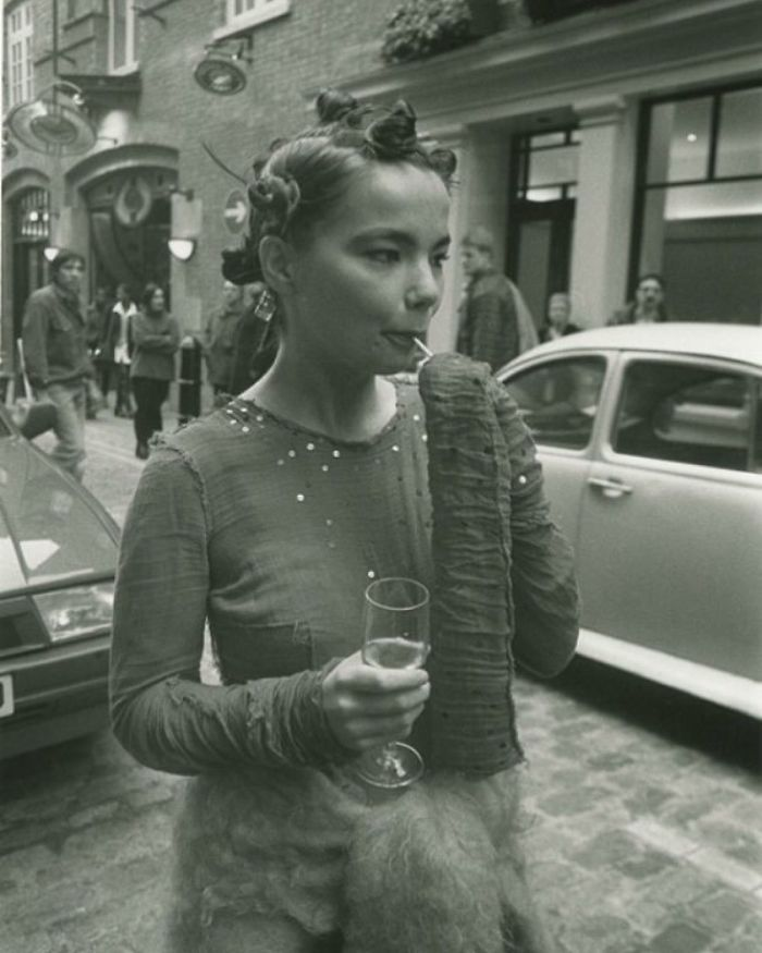 Bjork Photographed By Jeremy Deller In 1994