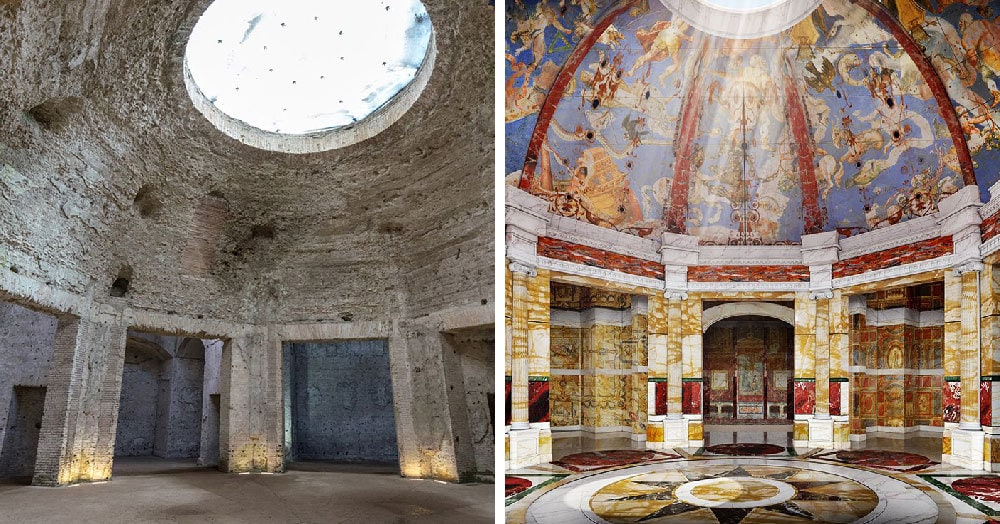 Учёные показали, как выглядели здания на месте известных руин мира, когда в них кипела жизнь