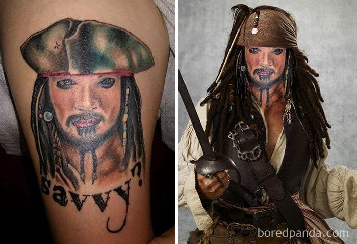 Spack Jarrow, Pirate Of The Curabbean