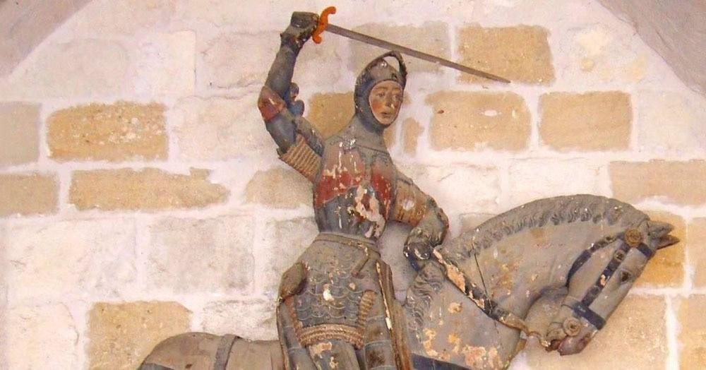 В Испании реставрацию старинной статуи доверили учителю труда. И очень об этом пожалели