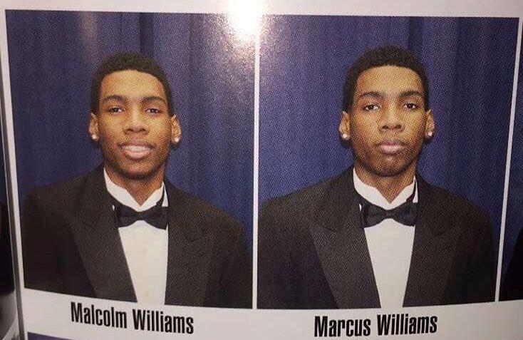 Эти близнецы на фото различаются всего одной деталью — наличием улыбки. Но есть во всем этом один подвох 1