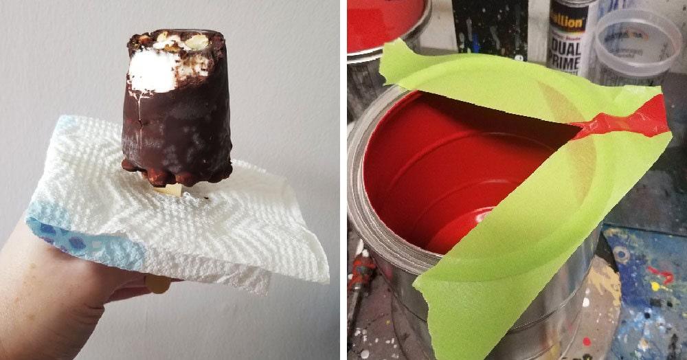 Пользователи сети поделились лайфхаками, которые позволяют сделать скучные дела буквально одной рукой