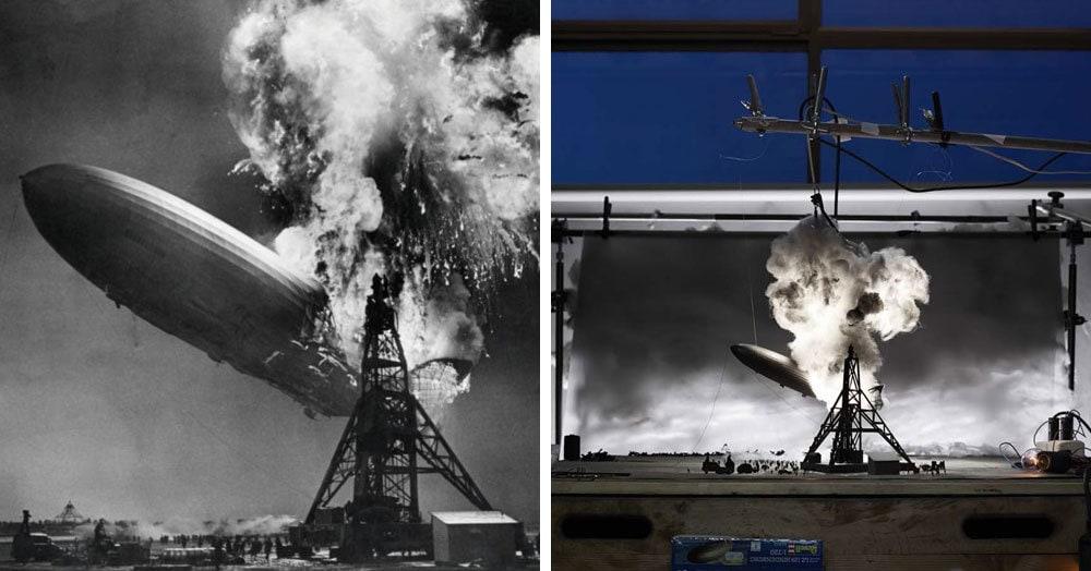 Художники детально воспроизвели известные исторические фото в объёмных миниатюрах. Получилось даже слишком реалистично