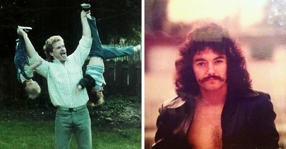 Парень создал страничку в Инстаграме, где собирает снимки отцов из 70-80-х годов. А они были теми ещё модниками