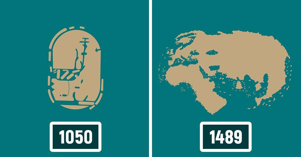 Как менялись представления о карте мира до того, как она приняла известные нам очертания