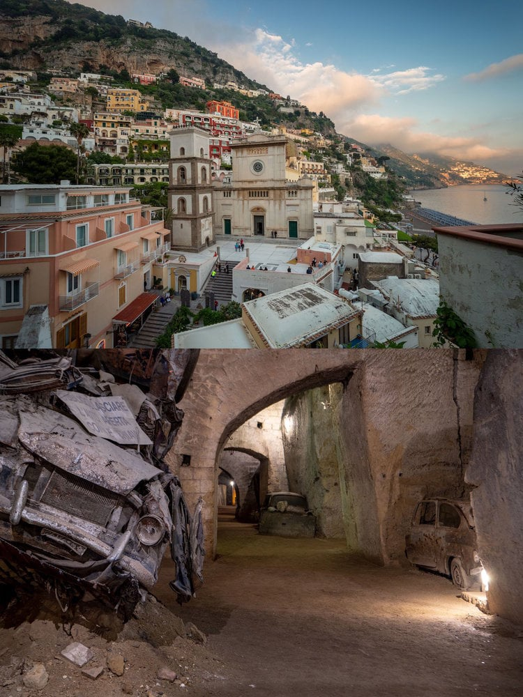 ITALY: The Bourbon Tunnels lie beneath the region of Naples.