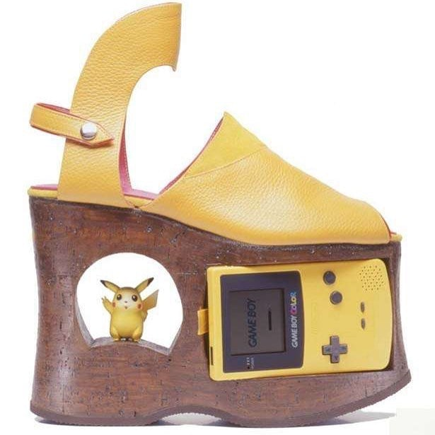 25 странных дизайнов обуви, которые пройдутся по вашему чувству вкуса, как по асфальту 7
