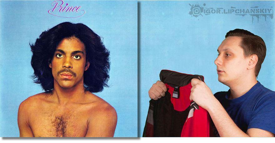 Парень помещает себя на обложки музыкальных альбомов, и выглядит это так, будто он был там всегда 36