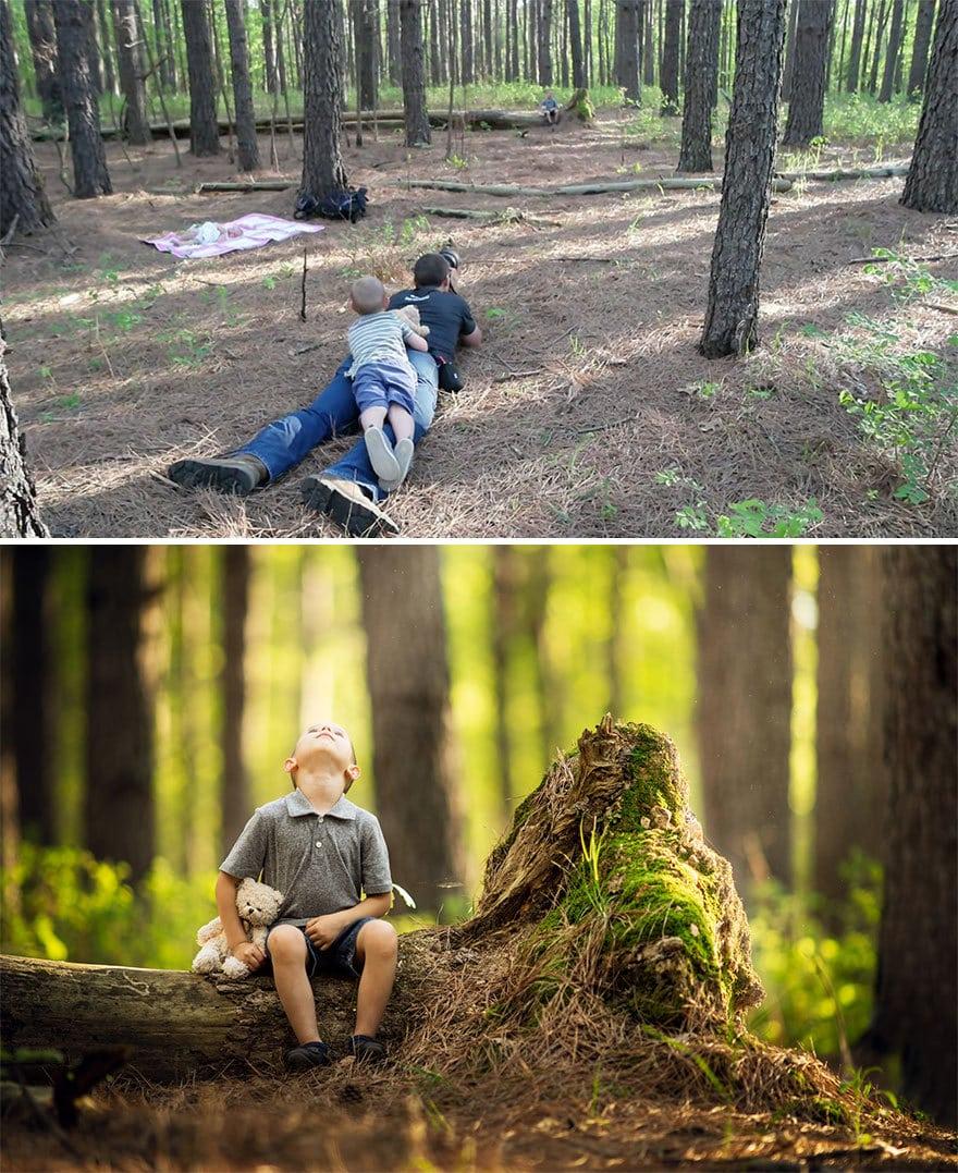 Мужчина показал, как выглядят одни и те же места глазами обычного человека и крутого фотографа 7