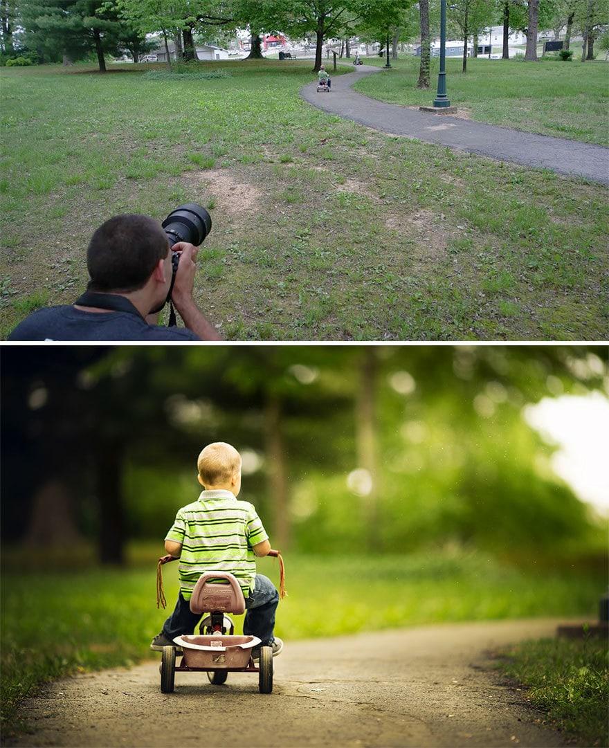 Мужчина показал, как выглядят одни и те же места глазами обычного человека и крутого фотографа 11