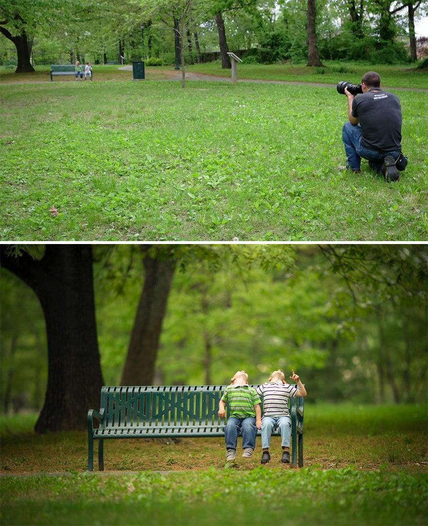 Мужчина показал, как выглядят одни и те же места глазами обычного человека и крутого фотографа 12