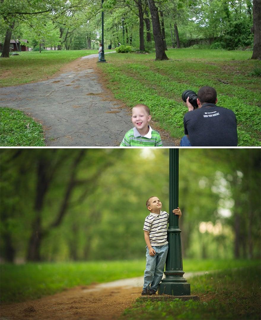 Мужчина показал, как выглядят одни и те же места глазами обычного человека и крутого фотографа 16