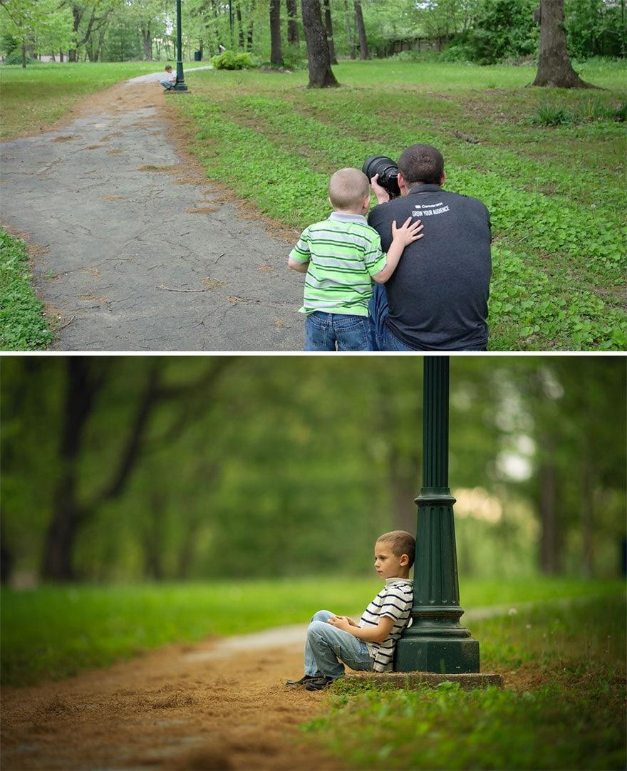 Мужчина показал, как выглядят одни и те же места глазами обычного человека и крутого фотографа 5