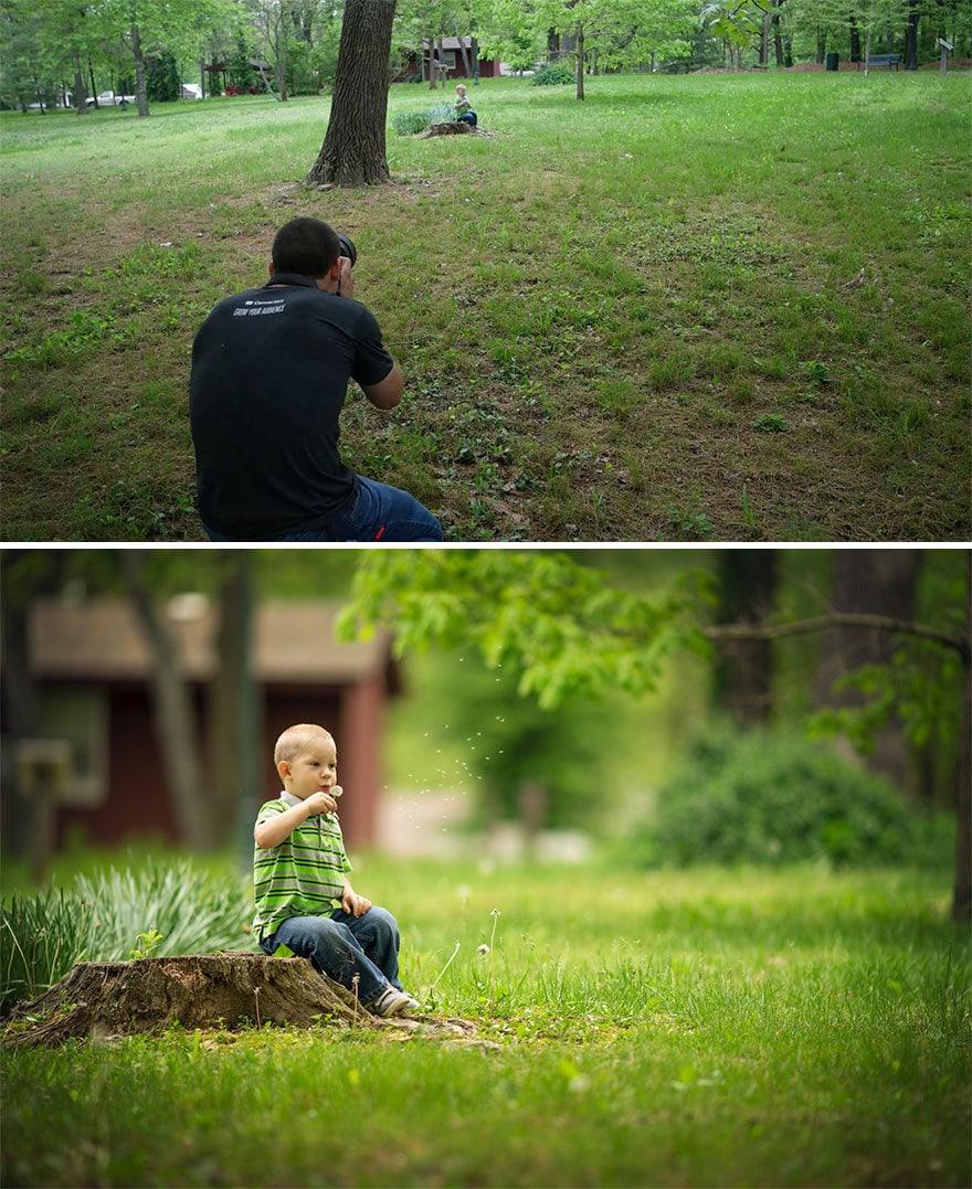 Мужчина показал, как выглядят одни и те же места глазами обычного человека и крутого фотографа 13