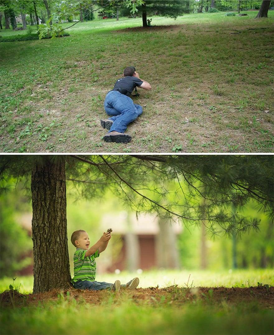 Мужчина показал, как выглядят одни и те же места глазами обычного человека и крутого фотографа 9