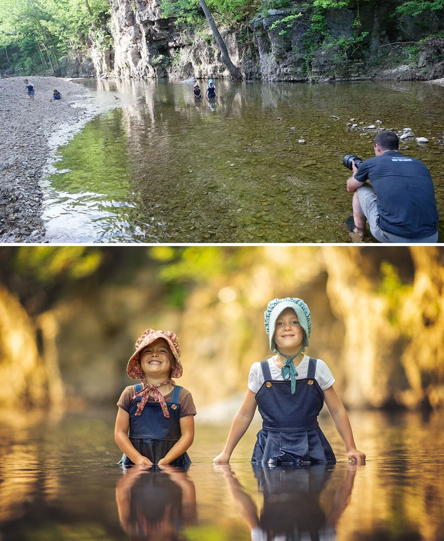 Мужчина показал, как выглядят одни и те же места глазами обычного человека и крутого фотографа 15